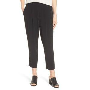 Eileen Fisher Tencel Lyocell Blend Crop Pant